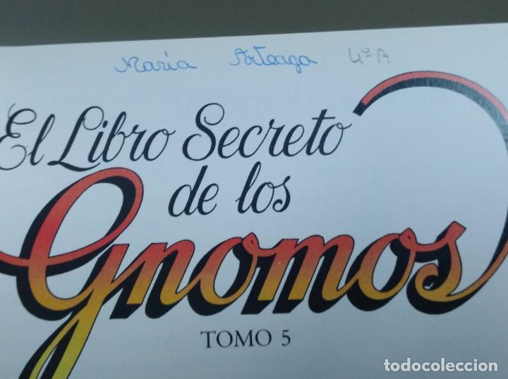 Libros: LOTE DE 4 LIBROS El libro secreto de los Gnomos PARA NIÑOS COLECCION DE TOMOS - Foto 4 - 169067056