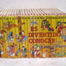 Libros: ES DIVERTENTE CONOCER CON WALT DISNEY. Lote 169647232