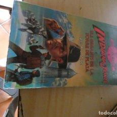 Libros: LIBROJUEGO ROL EN CATALAN INDIANA JONES GEGANTS TORRE DE PLATA . Lote 170498236