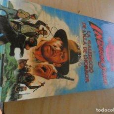 Libros: LIBRO JUEGO ROL EN CATALAN INDIANA JONES I MALEDICCIO ILLA HORROR EN CATALAN. Lote 170499168