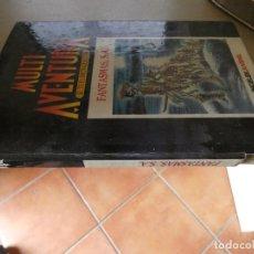 Libros: DIFICIL LIBROJUEGO ROL INGELEK MULTIAVENTURA 17 FANTASMAS S.A. CON DESPERFECTO EN LOMO . Lote 170499736
