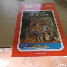 Libros: LIBRO JUEGO ELIGE TU PORPIA AVENTURA GOLBO AZUL 2 LA CASA ENCANTADA . Lote 170500280