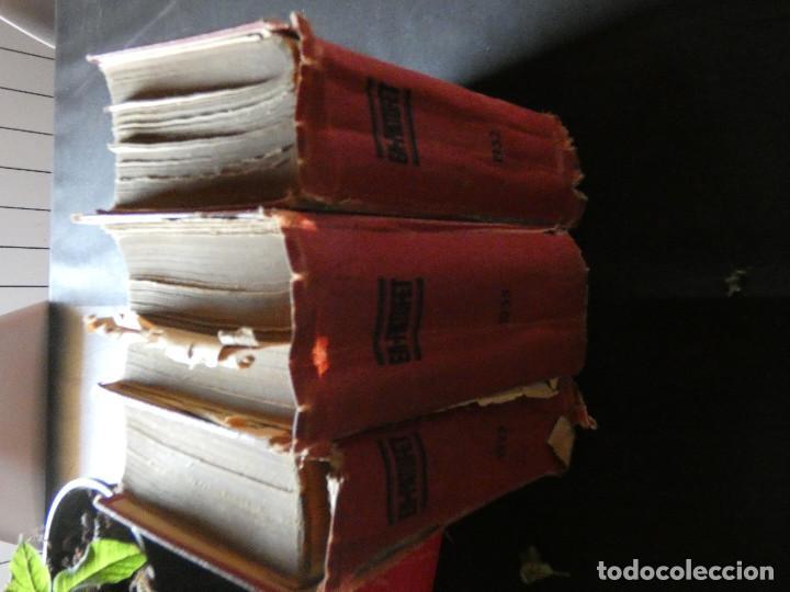 LOTE 3 TOMOS DE PATUFET AÑOS COMPLETOS 1923 1932 1935 (Libros Nuevos - Literatura Infantil y Juvenil - Literatura Infantil)