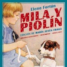 Libros: PATITA Y MILA, ESTUDIANTES. ELENA FORTUN.. Lote 173136378