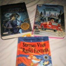 Libros: LOTE 3 LIBROS GERÓNIMO Y TEA STILTON TAPAS DURAS. Lote 178606093