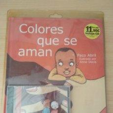 Libros: COLORES QUE SE AMAN. PACO ABRIL NUEVO. Lote 178786832