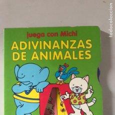 Libros: ADIVINANZAS DE ANIMALES. Lote 180874145