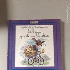 Libros: LA BRUJA QUE IBA EN BICICLETA. Lote 180874317