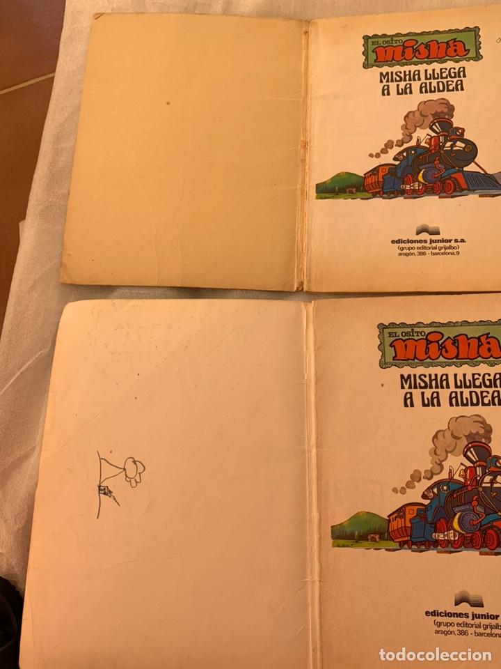 Libros: El osito Misha llega a la aldea editorial grijalbo año 1980 - Foto 3 - 182982737