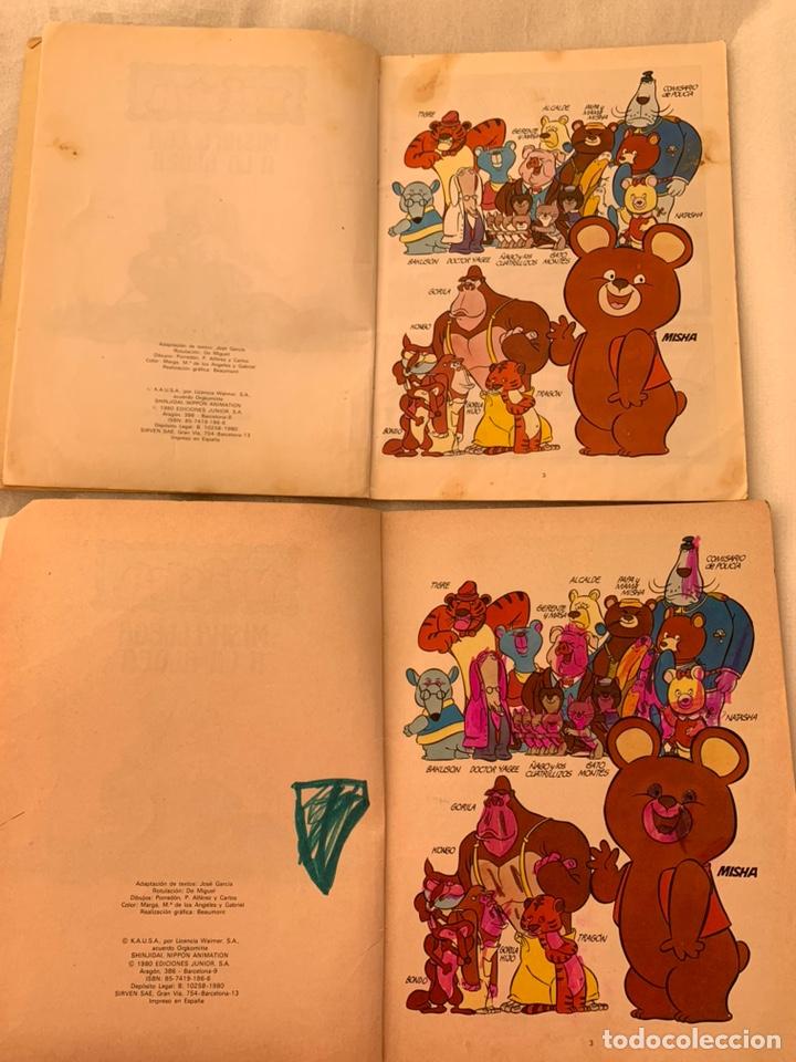 Libros: El osito Misha llega a la aldea editorial grijalbo año 1980 - Foto 4 - 182982737