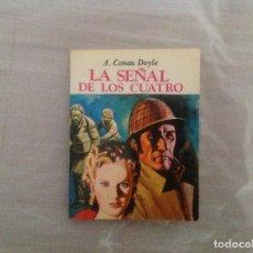 Libros: LA SEÑAL DE LOS CUATRO MINIBIBLIOTECA LITERATURA UNIVERSAL. Lote 183360421