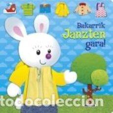 Libros: BAKARRIK JANZTEN GARA!. Lote 183412405