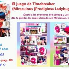 Libros: EL JUEGO DE TIMEBREAKER COMIC TAPA DURA A PARTIR DE 7 AÑOS . Lote 183483588