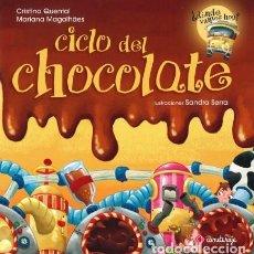 Livres: NOVEDAD CICLO DEL CHOCOLATE. COLECCIÓN:¿DÓNDE VAMOS HOY? EDITORIAL COMETA ROJA TD. Lote 183709440