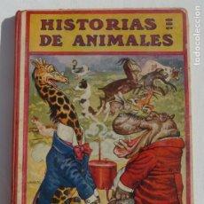 Libros: HISTORIAS DE ANIMALES. BIBLIOTECA PARA NIÑOS. SOPENA. 1919. Lote 187497710