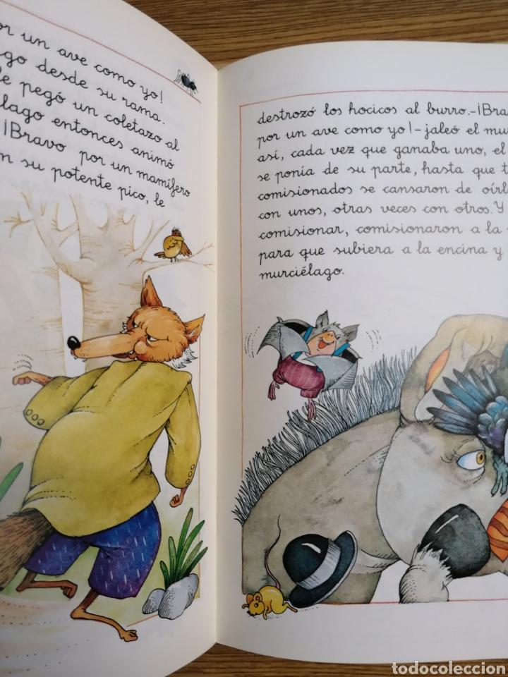Libros: El Parlamento de los animales. Cuentos de la Media Lunita. Ed. Algaida. Nuevo de tienda - Foto 2 - 188591673