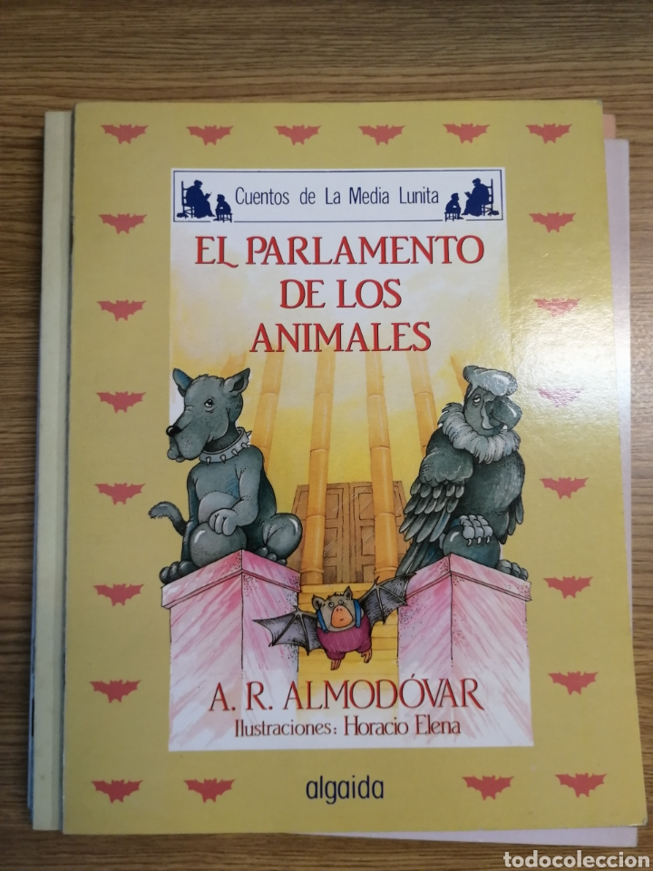 EL PARLAMENTO DE LOS ANIMALES. CUENTOS DE LA MEDIA LUNITA. ED. ALGAIDA. NUEVO DE TIENDA (Libros Nuevos - Literatura Infantil y Juvenil - Literatura Infantil)