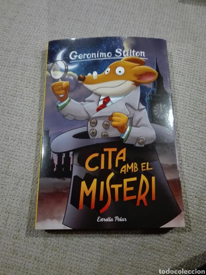 GERÓNIMO STILTON. CITA AMB EL MISTERI. 79. LIBRO EN CATALÁN (Libros Nuevos - Literatura Infantil y Juvenil - Literatura Infantil)