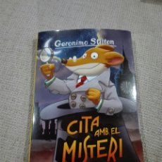 Libros: GERÓNIMO STILTON. CITA AMB EL MISTERI. 79. LIBRO EN CATALÁN. Lote 193653588