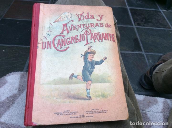 VIDA Y AVENTURAS DE UN CANGREJO PARLANTE. (Libros Nuevos - Literatura Infantil y Juvenil - Literatura Infantil)