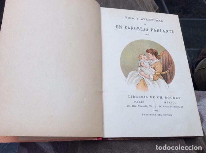 Libros: Vida y aventuras de un cangrejo parlante. - Foto 2 - 195721058