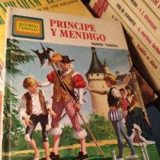 Libros: PRÍNCIPE Y MENDIGO. Lote 196793226