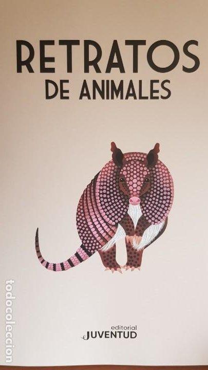 Libros: RETRATOS DE ANIMALES / LUCIE BRUNELLIÈRE / EDITORIAL JUVENTUD-2019 / GRAN FORMATO. 33.5 X 45.5 CM. - Foto 2 - 198095753