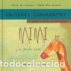 Libros: MIMI Y LA JIRAFA AZUL-RÚSTICA. Lote 198994665