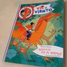 Libros: 1. RESCATE EN EL BOSQUE MASINI, BEATRICE EDEBÉ / 978-84-683-0890-6 VIC Y VIENTO. Lote 274908068