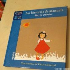 Livros: LAS HISTORIAS DE MANUELA OSORIO GARRIDO, MARTA EDEBÉ / 978-84-236-6786-4 EL TREN AZUL. Lote 199221765