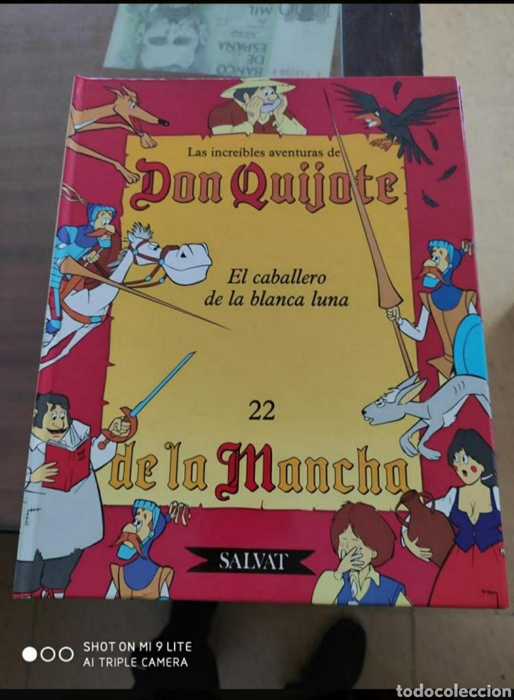 LIBRO COMIC LAS INCREÍBLE AVENTURAS DE DON QUIJOTE (Libros Nuevos - Literatura Infantil y Juvenil - Literatura Infantil)