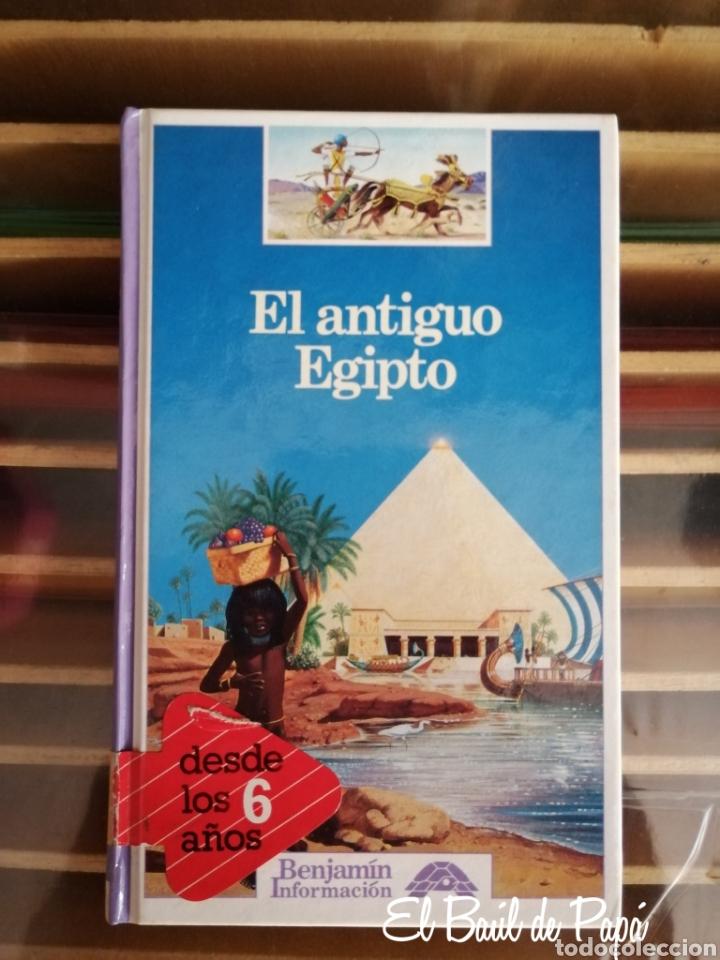 EL ANTIGUO EGIPTO. COLECCIÓN BENJAMIN INFORMACIÓN. ED. ALTEA. DESCATALOGADO (Libros Nuevos - Literatura Infantil y Juvenil - Literatura Infantil)