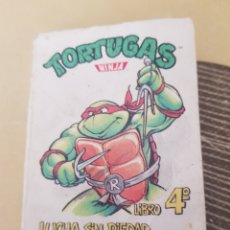 Libros: TORTUGAS NINJA MINI LIBRO. Lote 205239155