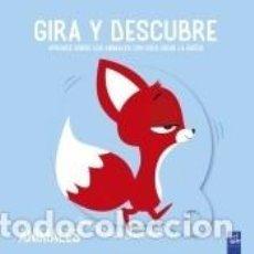 Libros: GIRA Y DESCUBRE. ANIMALES. Lote 205667883