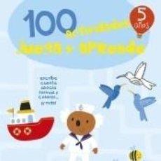 Libros: 100 ACTIVIDADES JUEGA Y APRENDE 5 AÑOS. Lote 205667916
