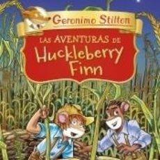 Libros: LAS AVENTURAS DE HUCKLEBERRY FINN. Lote 206853946