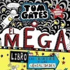 Libros: TOM GATES: EL MEGALIBRO DE LAS MANUALIDADES Y LAS GENIALIDADES. Lote 206889897