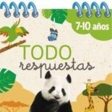 Libros: TODO RESPUESTAS.150 PREGUNTAS SOBRE ANIMALES. Lote 206889925