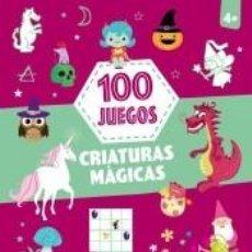 Libros: 100 JUEGOS CRIATURAS MAGI. Lote 206986738