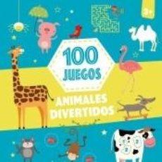 Libros: 100 JUEGOS ANIMALES DIVER. Lote 206986756