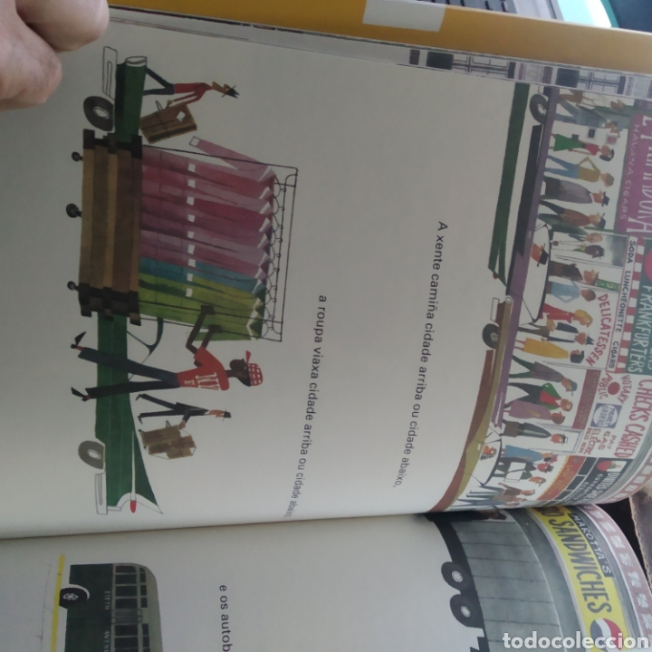 Libros: M. Sasck - Isto é Nova York (Clásico infantil en Gallego) (Nuevo) - Foto 3 - 208098407