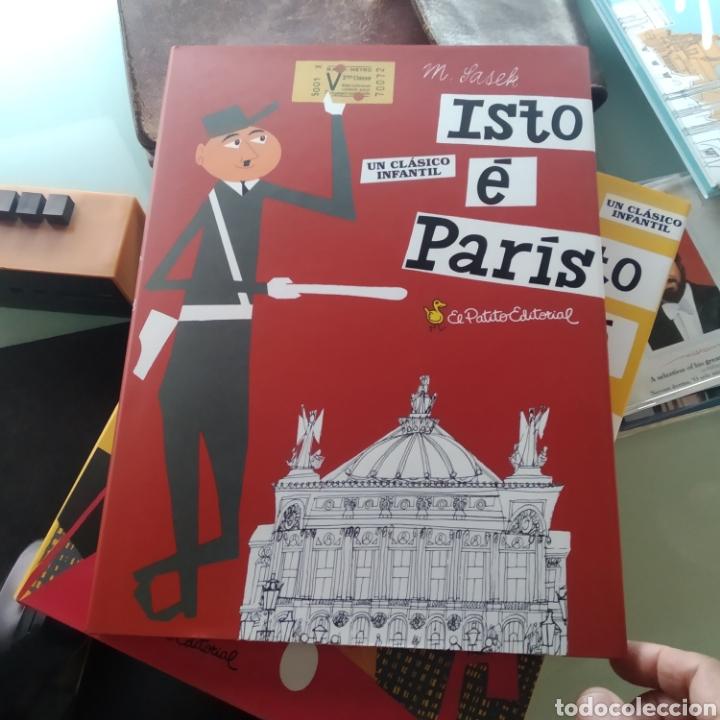 M. SASCK - ISTO É PARÍS (CLÁSICO INFANTIL EN GALLEGO) (NUEVO) (Libros Nuevos - Literatura Infantil y Juvenil - Literatura Infantil)