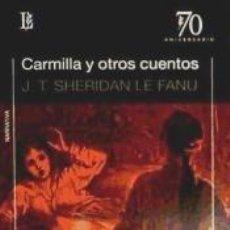 Libros: CARMILLA OTROS CUENTOS LOSADA. Lote 210283160