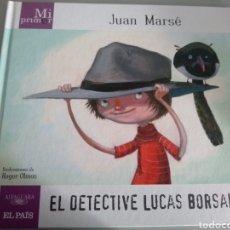 Libros: MI PRIMER JUAN MARSÉ. EL DETECTIVE LUCAS BORSALINO. Lote 210344748