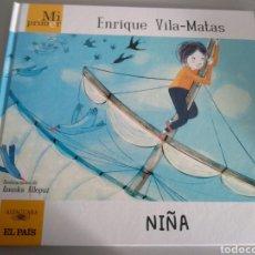 Libros: MI PRIMER ENRIQUE VILA-MATAS. NIÑA. Lote 210344787