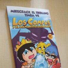 Libros: LOS COMPAS Y EL DIAMANTITO LEGENDARIOS. MIKE, TROLLI, TIMBA. NUEVO. Lote 210647420