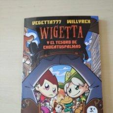 Libros: WIGETTA Y EL TESORO DE CHOCATUSPALMAS. WILLYREX Y VEGETTA. NUEVO. Lote 210673412