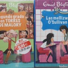 Libros: COLECCION ENYD BLYTON. PACK 2 LIBROS. Lote 210805017