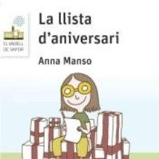 Libros: LA LLISTA DANIVERSARI (LECTURA FÀCIL). Lote 210839934