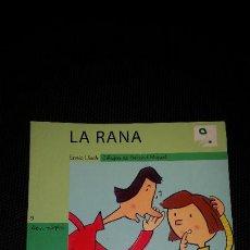 Libros: LIBRO INFANTIL LA RANA . ED. ALGAR ALZIRA AÑO 2007. Lote 210932999
